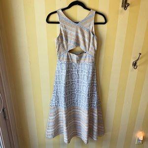 Free People Cutout Midi Dress size 6